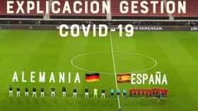 El meme manipulado para comparar los motivos de los contagios en Alemania y España