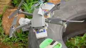 Dron empelado por los cárteles de la droga en México