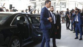 El Audi A8 que utiliza Pedro Sánchez fue adquirido en 2017 por Mariano Rajoy.