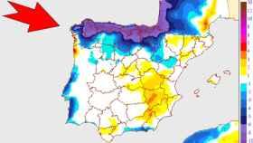 Variaciones de temperaturas para el sábado 5 de septiembre en la Península y Baleares. AEMET.