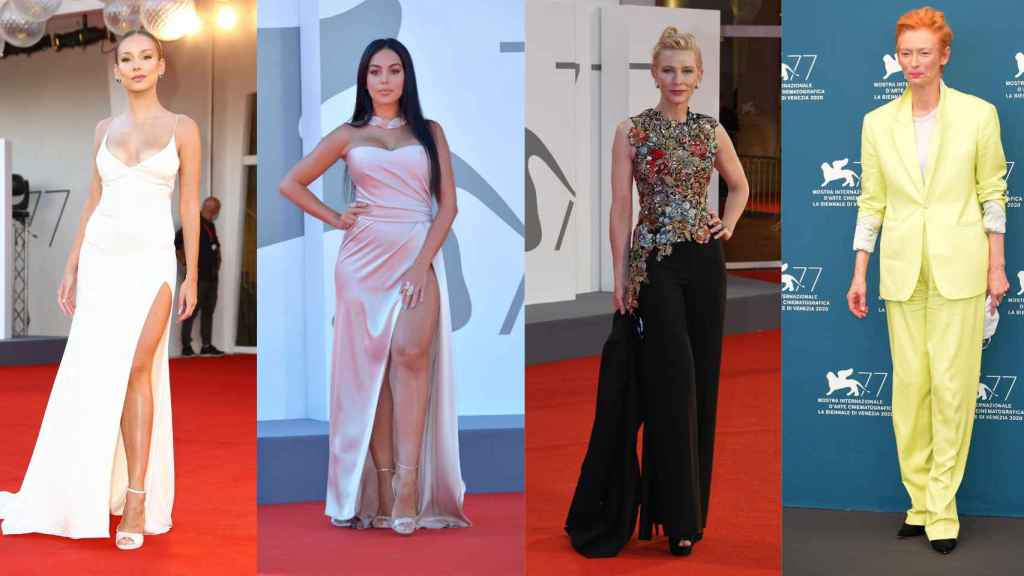 De Cate Blanchett a Ester Expósito, los mejores 'looks' del Festival de Venecia