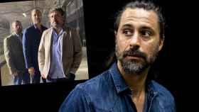 Hugo Silva, inmerso en el rodaje de 'Los Hombres de Paco'.
