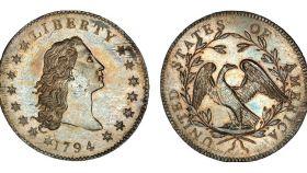 La moneda de plata de un dólar vendida por más de 10 millones.