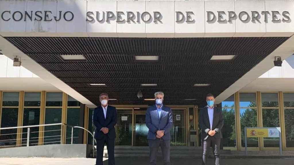 ProLiga, ACFF y la LNFS se reúnen con el director general del CSD, Joaquín Arístegui