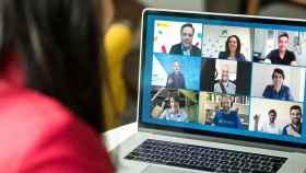 Un momento del evento virtual de presentación de los ganadores de los últimos Premios EmprendedorXXI.