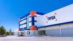 Las nuevas instalaciones de Tipsa.