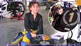 Ana Carrasco, la primera mujer en ganar un mundial de motos.