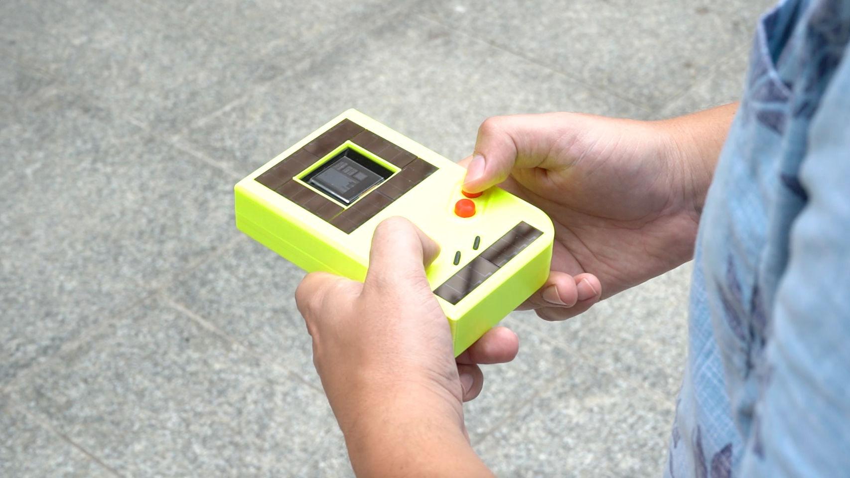 Game Boy de la Universidad Northwestern.