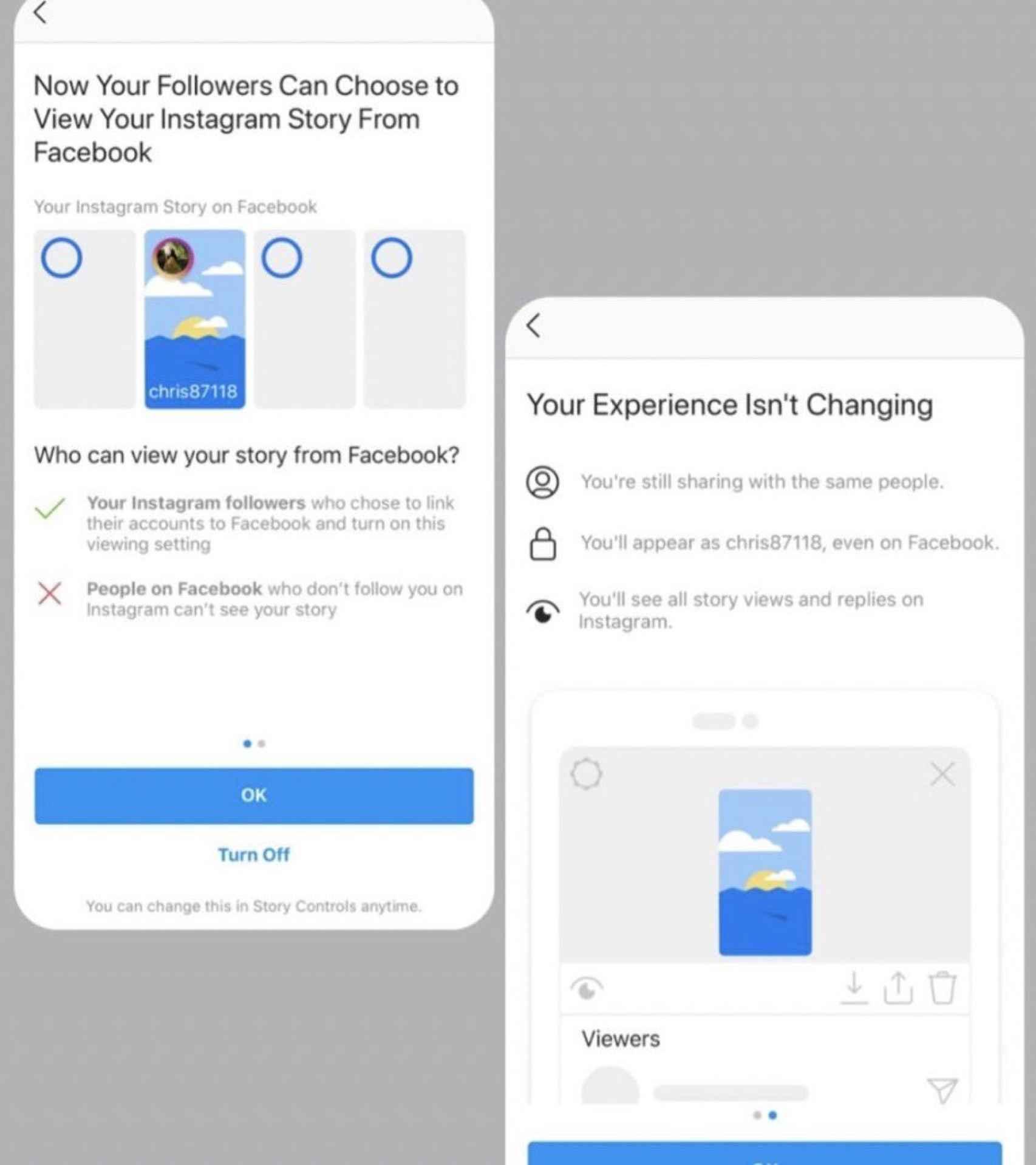 Integración de Instagram en Facebook