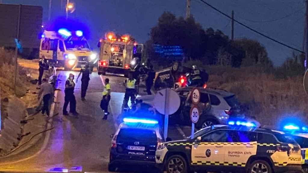 El inspector herido de gravedad ha tenido que ser trasladado en helicóptero al hospital.