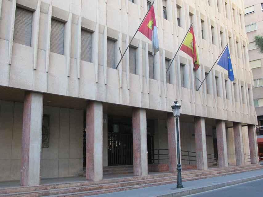 Fachada del Palacio de Justicia de Castilla-La Mancha, en Albacete.