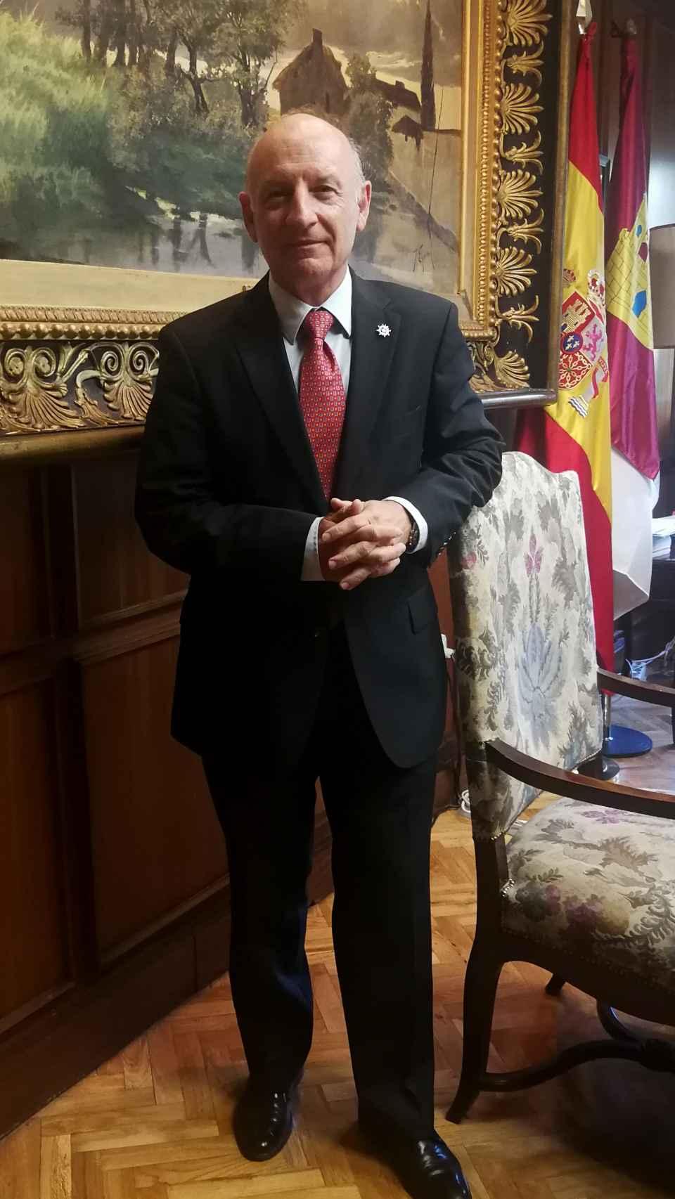Vicente Rouco, en la sede del TSJ.