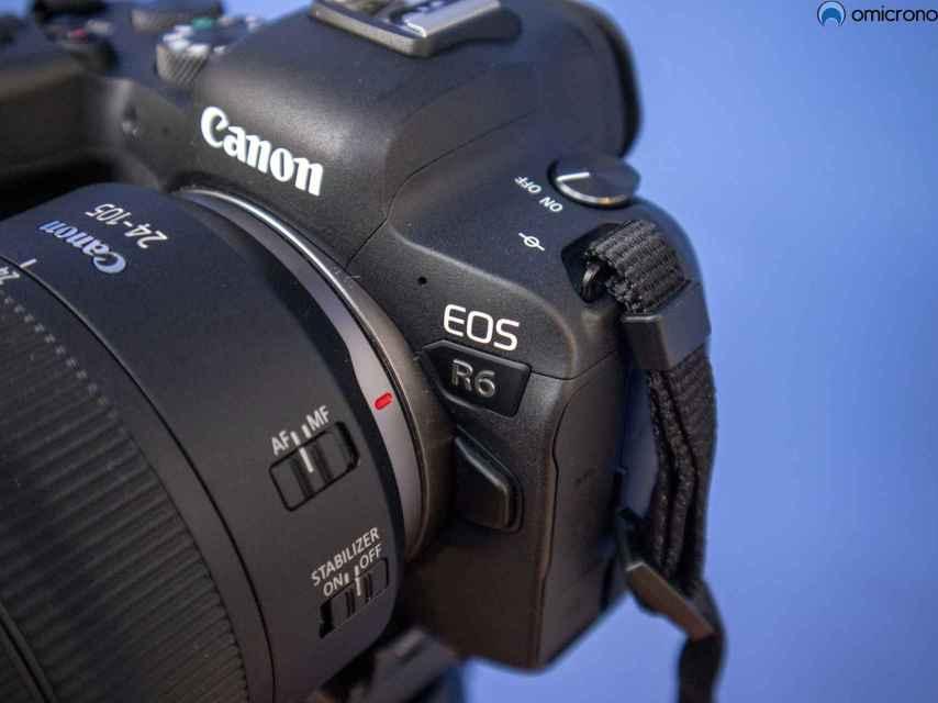 La Canon EOS R6 no es barata.