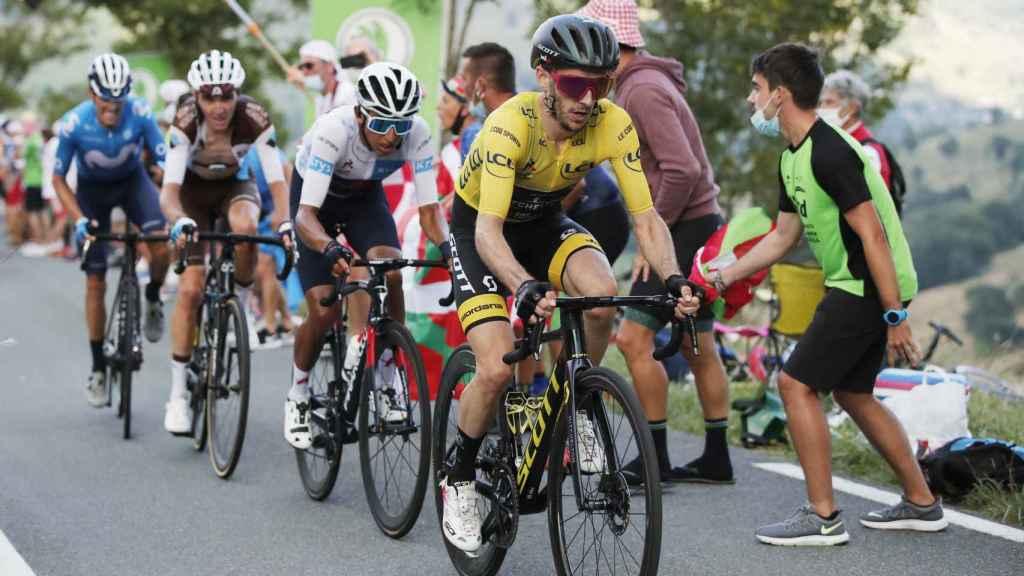 Adam Yates durante el Tour de Francia