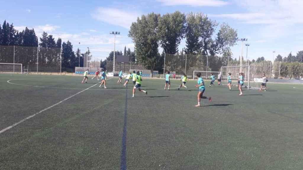 Entrenamiento del Zaragoza CFF