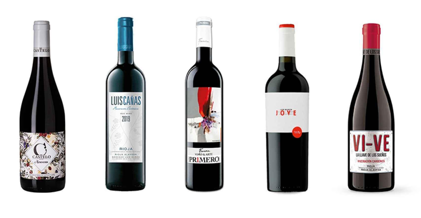 Cinco vinos fantásticos y económicos con maceración carbónica.