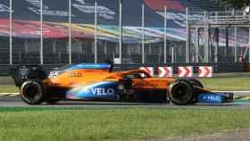 Carlos Sainz Jr., en el Gran Premio de Italia de Fórmula 1