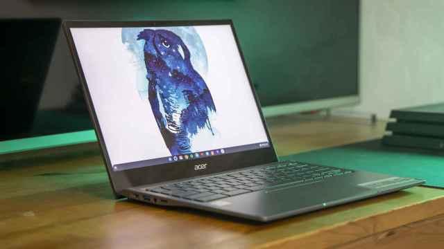 Un ordenador con Chrome OS.