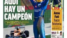 La portada del diario MARCA (07/09/2020)
