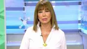 La periodista Ana Rosa Quintana en su regreso al trabajo este lunes 7 de septiembre.