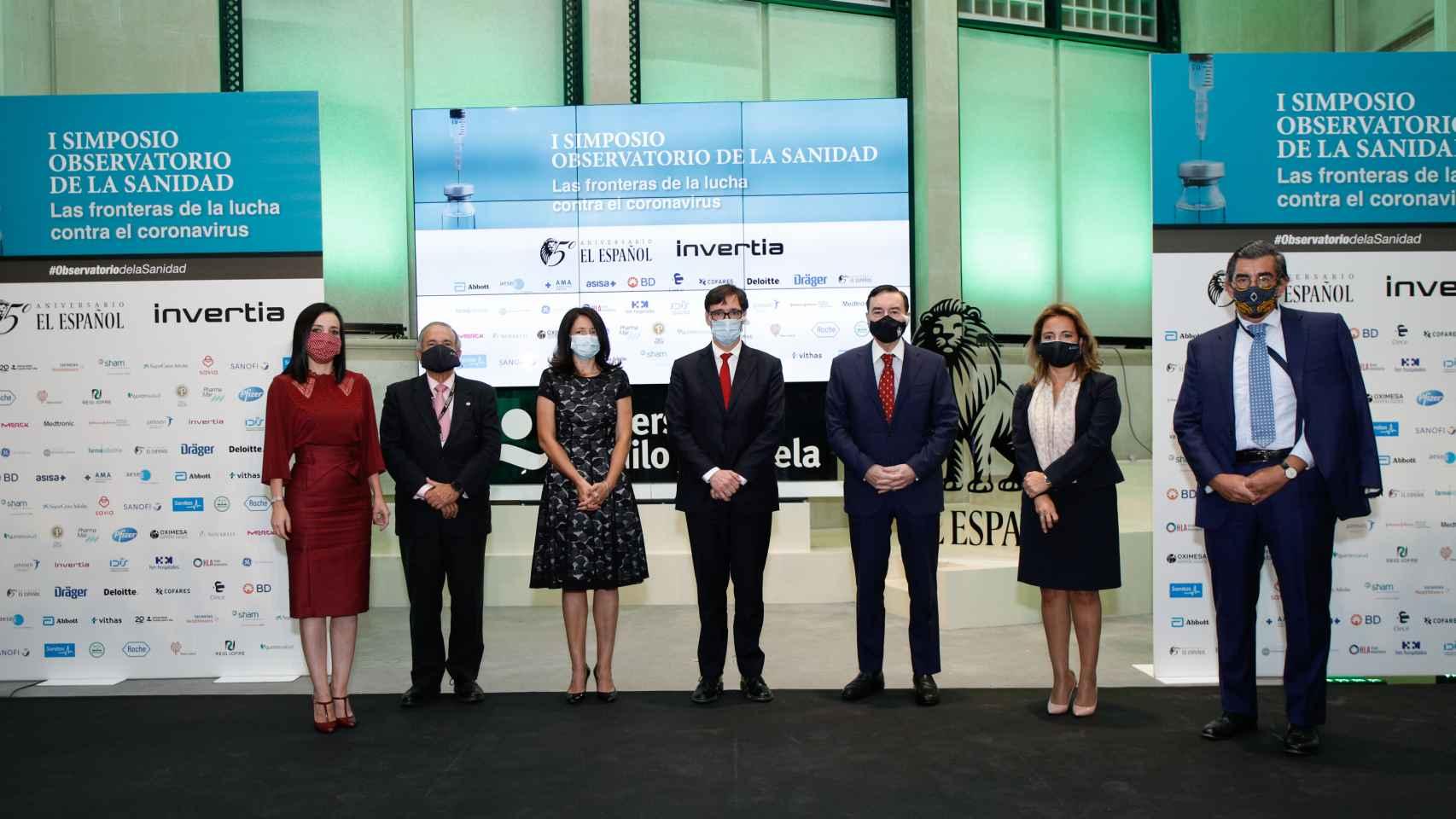 Inauguración del simposio 'Las fronteras de la lucha contra el virus'