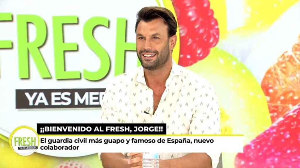 Jorge Pérez debuta como colaborador en 'Ya es Mediodía'.