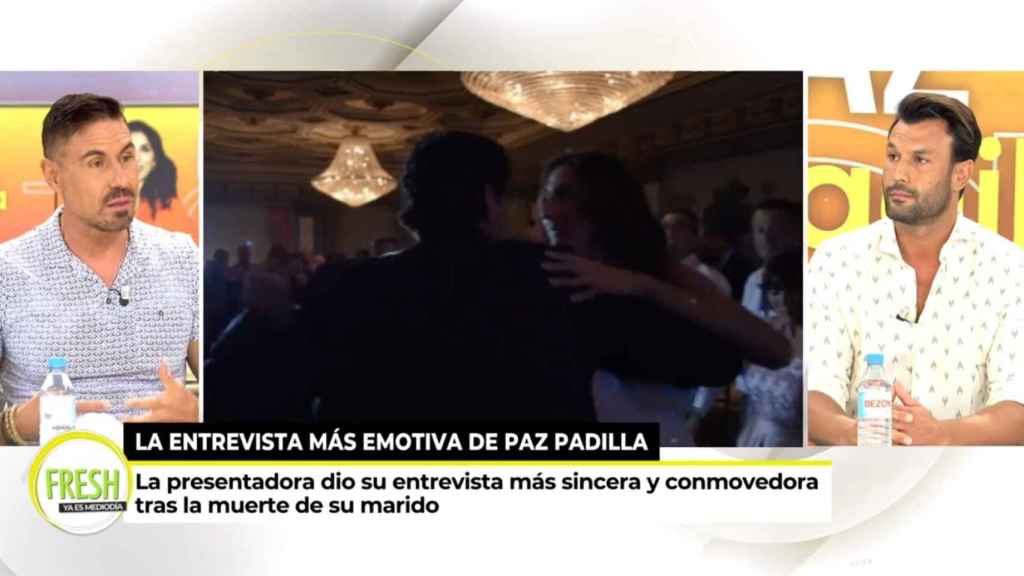 En su primer día, Jorge Pérez ha hablado sobre la entrevista que Paz Padilla concedió a 'Sábado Deluxe'.