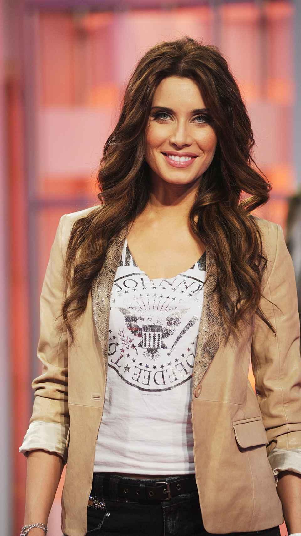 Pilar en la presentación de 'OT' en 2011.