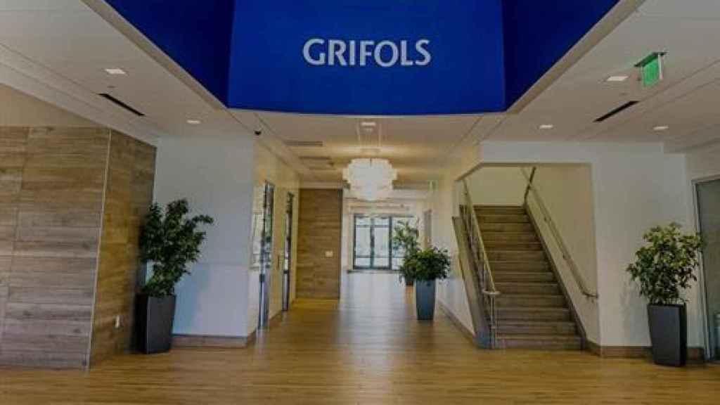 Una de las instalaciones de Grifols.