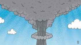 Uno de las consecuencias de los ensayos nucleares han sido las lluvias ácidas.