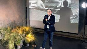 Roberto Verino en la presentación de Madris es Moda.