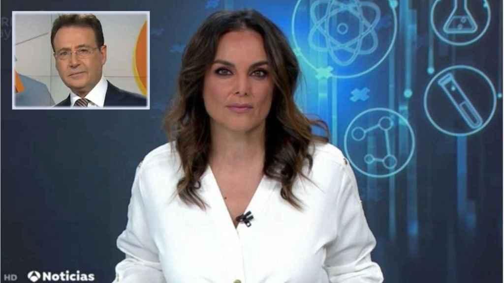 Mónica Carrillo y Matías Prats en montaje de JALEOS.
