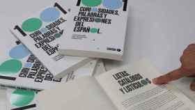 Vista del nuevo libro de la Fundación del Español Urgente (Fundéu) '1001 curiosidades, palabras y expresiones del español'.