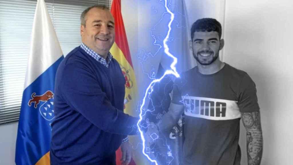 Miguel Ángel Ramírez y Pedro 'Tana' Tanausú Domínguez Placeres