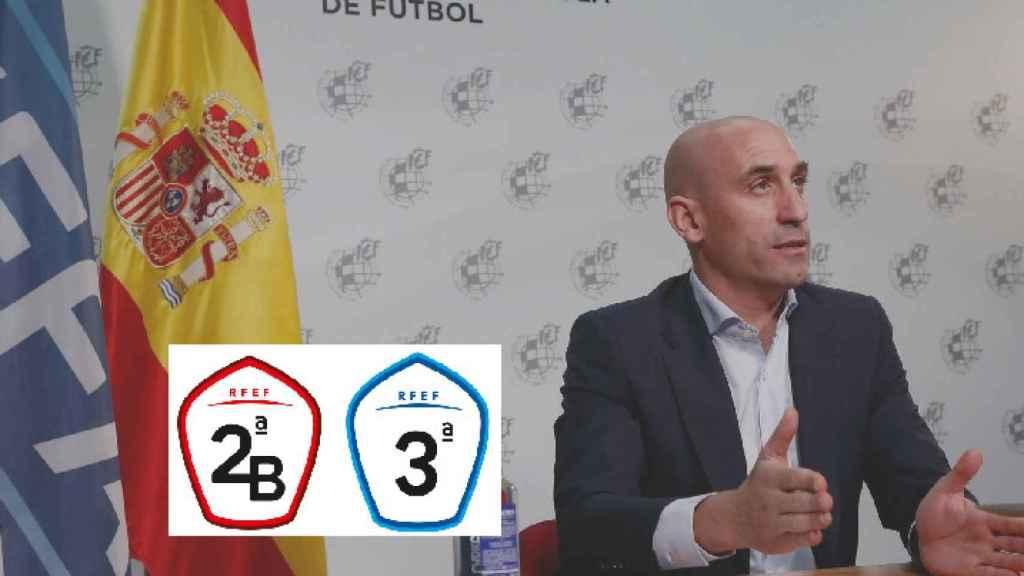 Rubiales no convence a 2ªB y Tercera: solo dará un millón más pese a la Covid y al aumento de equipos