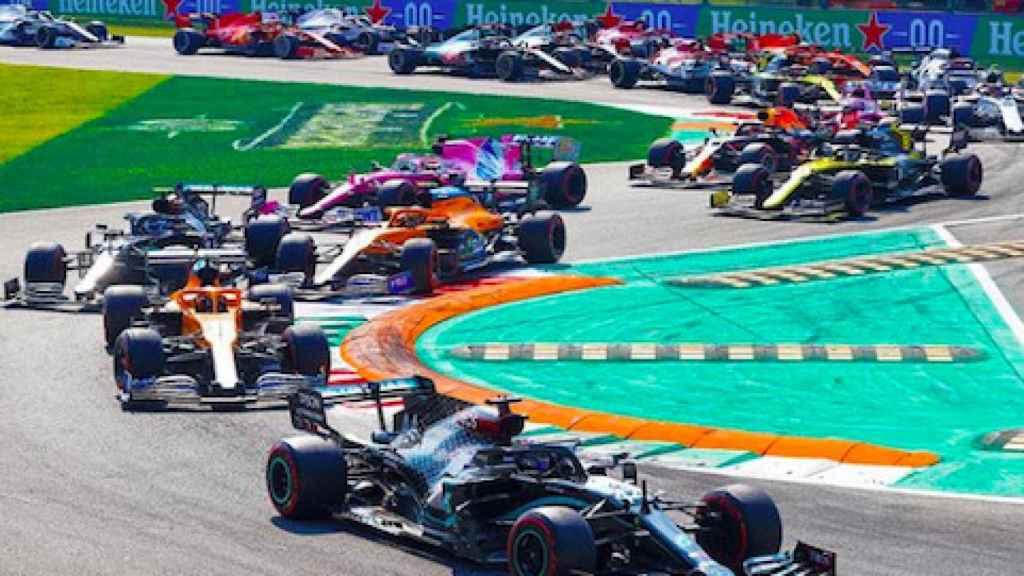 Gran Premio de Monza con Hamilton a la cabeza