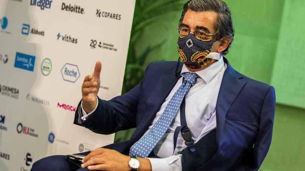 Juan Abarca, presidente de la Fundación Instituto para el Desarrollo e Integración de la Sanidad (IDIS)