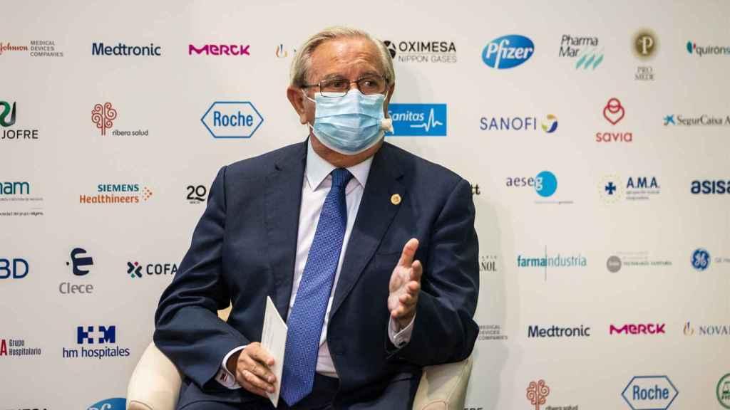 Serafín Romero, presidente del Consejo General de Colegios Oficiales de Médicos
