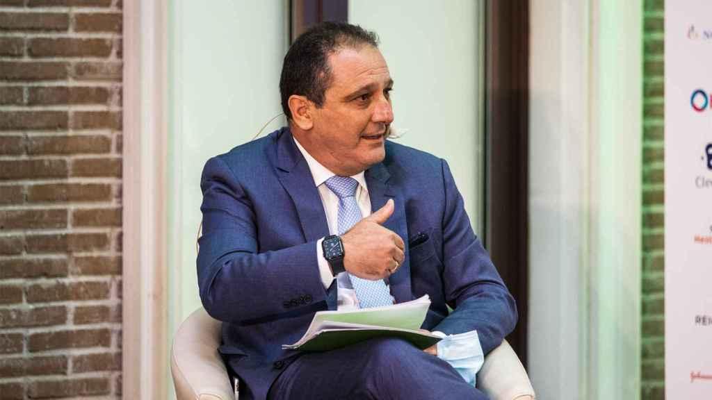 Juan Pedro Rízquez,  vicepresidente del Consejo General de Colegios Oficiales de Farmacéuticos