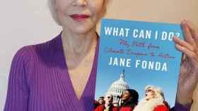 Jane Fonda y su último libro.