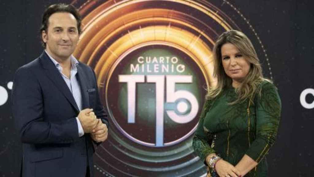 Iker Jiménez y Carmen Porter estrenan nueva temporada en 'Cuarto Milenio' volcada con la Covid.
