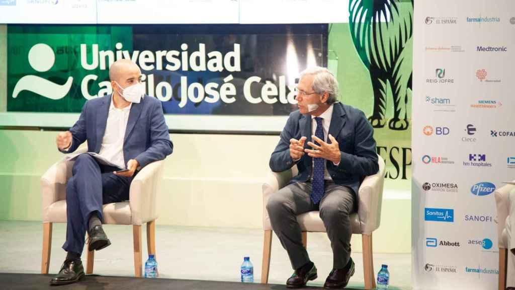 Miguel Elizondo y Salvador Tranche.