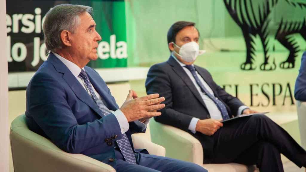 Cristóbal Valderas y Eduardo Pastor.