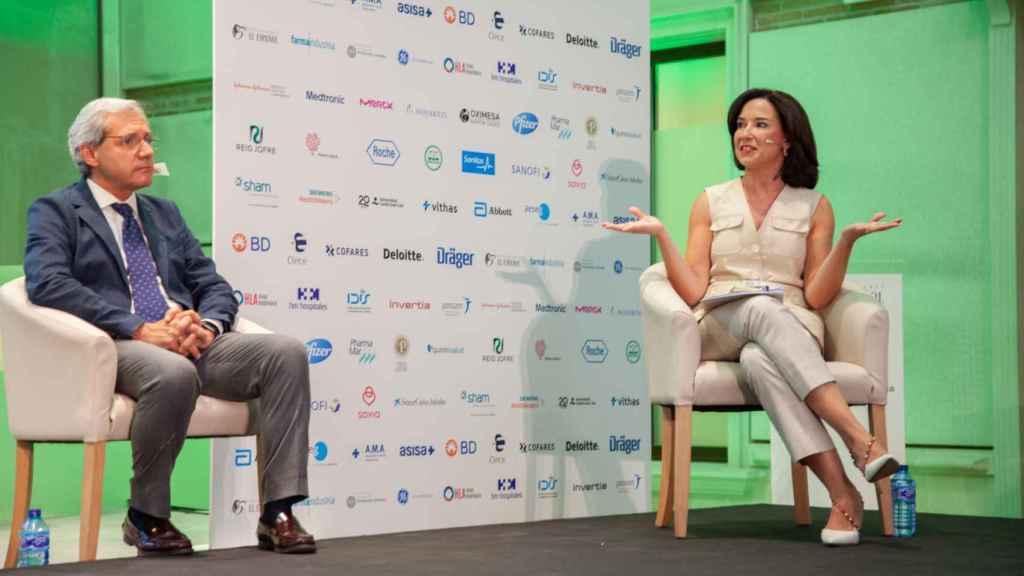 Salvador Tranche y Raquel Martínez.