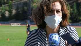 Irene Lozano, durante un acto en el mes de septiembre