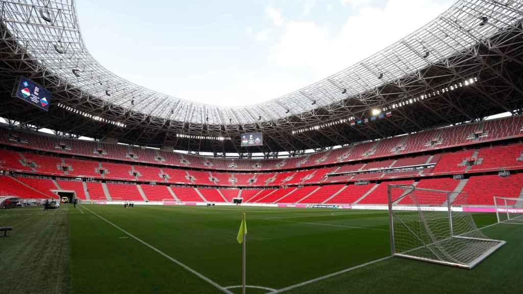 El Puskas Arena de Budapest, escenario de la Supercopa de Europa de 2020