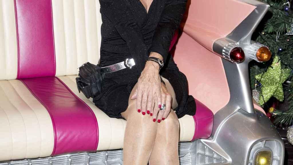 Rosa Valenty en el Bingo Las Vegas donde trabaja en 2018.