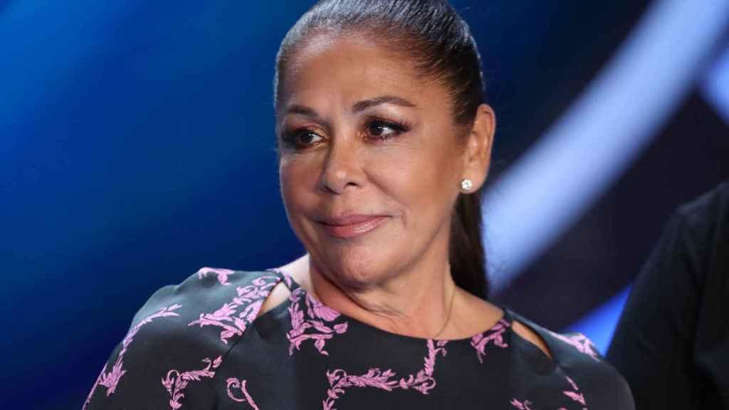 Isabel Pantoja, en la presentación de 'Idol Kids'.