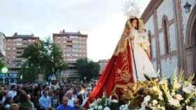 Imagen de archivo de una procesión de la Virgen de la Antigua