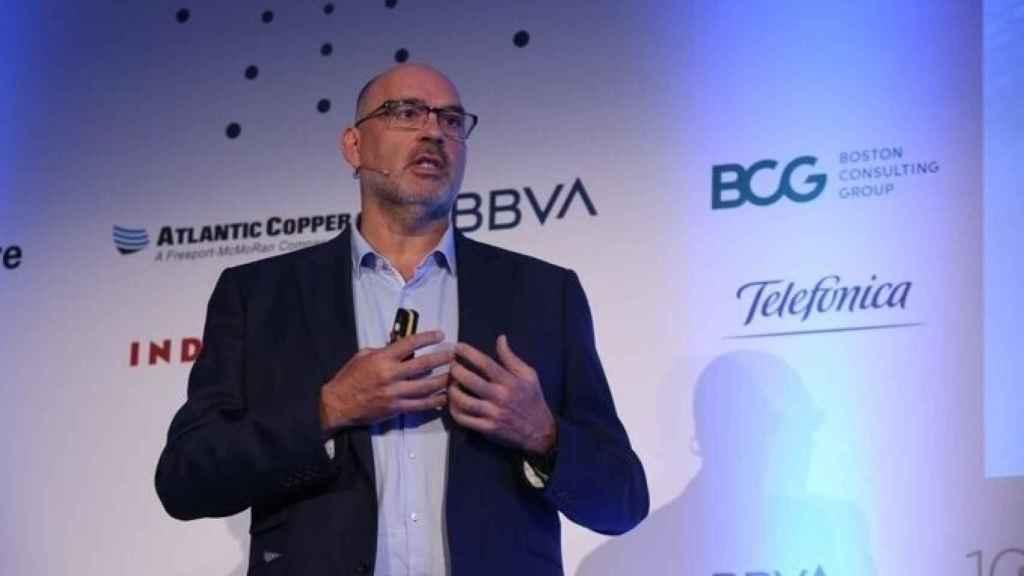 Emilio Gayo, presidente de Telefónica España, en una imagen de archivo